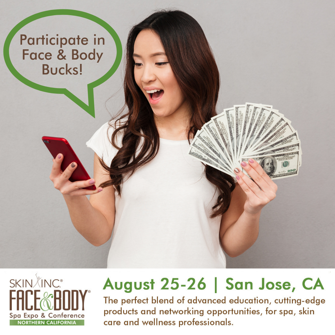 Face & Body attendee with passport money
